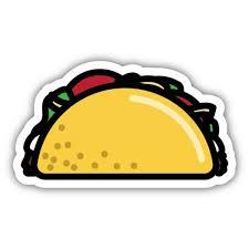 Stickers Northwest Taco Sticker Dick S Sporting Goods