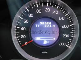 reset service light volvo xc60 2008