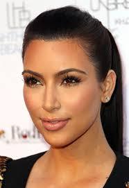 kim kardashian metallic eyeshadow