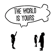 2020 16 15 6cm The World Is Yours Car Sticker Funny Car Window Bumper Novelty Jdm Drift Vinyl Decal Sticker From Xymy777 1 77 Dhgate Com