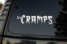 The Cramps Vinyl Sticker Decal V40 Choose Color Rock Rockabilly Mad Sin Car Ebay