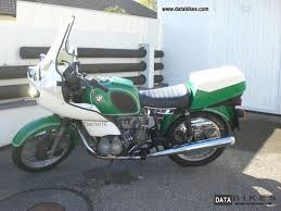 1976 bmw r 60 6 police motorcycle