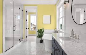 the best bathroom colors based on