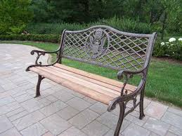 american eagle wrought iron wood