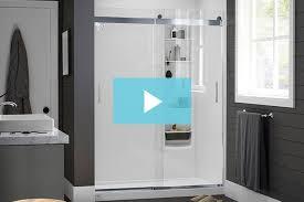 glass shower doors door installation