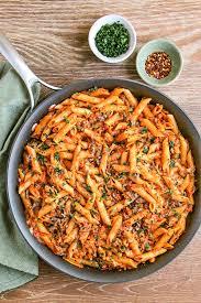 this mostaccioli pasta