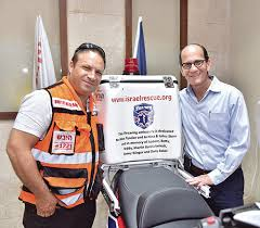 Goldschmiedt Family Donates Ambucycle