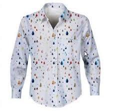 multi drop printed shirts view