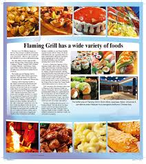 Flaming Grill & Supreme Buffet menu in ...