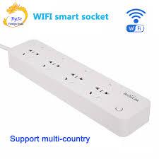 Broadlink MP1 Điện Thông Minh Dây Ổ Cắm Riêng Điều Khiển Wifi Ổ Cắm Thông  Minh 4 Ổ Cắm Ổ Cắm Điện Thông Minh Tự Động Hóa|ổ cắm thông minh wifi