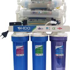 Máy lọc nước RO OHIDO T8080 9 cấp lọc + Tủ kính Cường Lực
