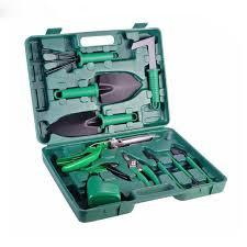garden tool set shovel rake clippers