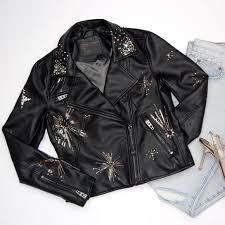 new blanknyc star struck faux leather