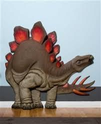 Beetling Stegosaurus Dinosaur 3d Wall Art Decor