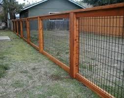 Hog Panel Fence Diy Medium Size Of Hog Railing Dealers Hog Wire Fence Home Depot Hog Panel Hog Wire Panel Diy Privacy Fence Fence Design Privacy Fence Designs