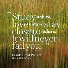 quotes famous quotes about nature quotesgram