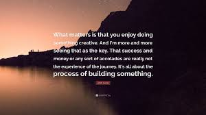 """josh lucas quote """"what matters is that you enjoy doing something"""