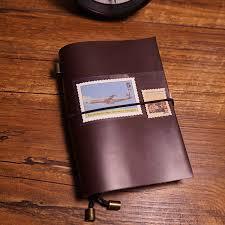 handmade notebook genuine leather