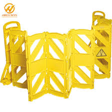 China Road Traffic Retractable Expandable Barrier Plastic Safety Fence Barrier China Expandable Fence Plastic Traffic Fence