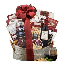 captivating basket with napa