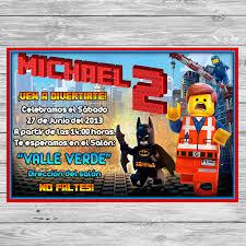 Gratis Lego Invitacion Para Imprimir Fiesta Imprimible