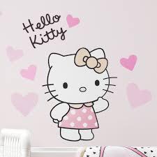 Bedtime Originals Hello Kitty Luv Hearts Wall Decal Wayfair