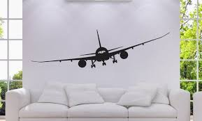 Airplane Boing 787 Wall Decal Wall Decor Home College Etsy In 2020 Airplanes Wall Decals Decal Wall Art Airplane Wall