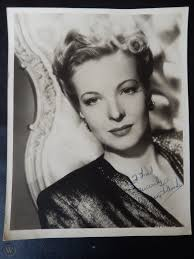 """Hillary Brooke Autographed 8"""" X 10"""" Photograph from Estate ..."""