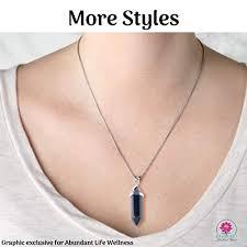 emf protection necklaces pendants