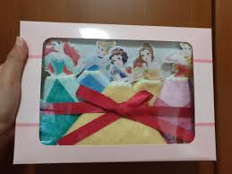 disney princess hand towel