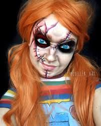 chucky makeup chucky doll chucky