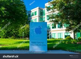 Apple Campus One Infinite Loop Logo | Buildings/Landmarks Stock Image  1477157441