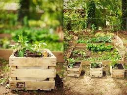 striking crate planter box equipped