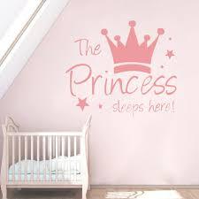 Girls Pink Princess Crown Wall Hanging Kids Tween Teen Bedroom Room Decor For Sale Online Ebay
