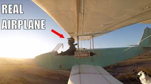 homemade electric airplane you