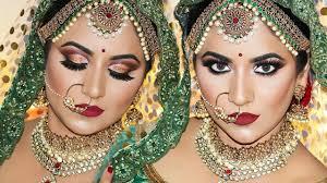 royal indian bridal makeup by