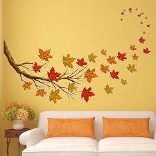 Winston Porter 37 Piece Autumn Leaves Tree Branch Fall Decorations Wall Decal Set Wayfair