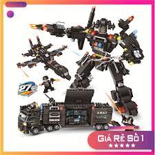 Xếp Hình Lego Ninjago Cảnh Sát Đặc Nhiệm SWAT - Đồ chơi Lego xếp ...