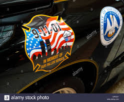 Police Decal High Resolution Stock Photography And Images Alamy