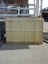 6x8 Stockade Fence Panel At Menards