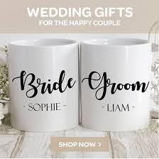 personalised wedding gifts unique