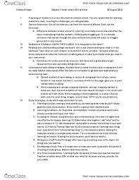 Textbook Notes for Ada Simmons - OneClass