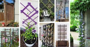 24 best diy garden trellis projects