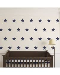 Phenomenal Deals On Five Point Stars Wall Decal Urban Walls Color Gold Metallic