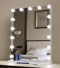 makeup vanity mirror with bulbs light