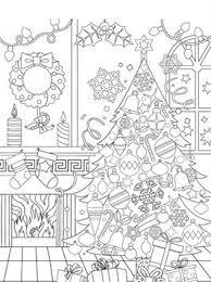 Kids N Fun 14 Kleurplaten Van Kerstmis Voor Volwassenen