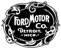 Amazon Com Ford Motor Co Printed 5 Inch Sticker Decal Die Cut Sticker Graphic Car Sticker Laptop Sticker Kitchen Dining