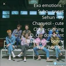 exo emotions suho swe quotes writings by koel ganguly