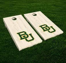 Set Of 2 Baylor University Bears Decal Ncaa Large Sticker Cornhole Board For Sale Online Ebay