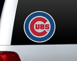 Chicago Cubs Vinyl Sticker Chicago Cubs Car Decal Sizes 6 Bumper Patch Window Poster Svcst Org